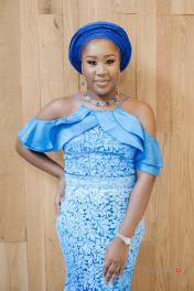 Ayodeji & Mayowa Nigerian Aso ebi ladies #Ayowa18 Wani Olatunde Photography LoveWeddingsNG 4