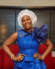Gbemi Olateru-Olagbegi, the sister of the groom