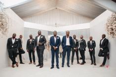 Nigerian Groom and groomsmen #Ayowa18 Wani Olatunde Photography LoveWeddingsNG