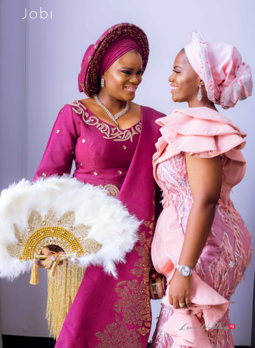 Nigerian Traditional Wedding Tobi and Efe #TheObodos Planned by MoAmber Concepts LoveWeddingsNG - Bride and friend