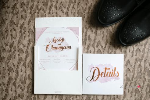 Nigerian Wedding Invite #Ayowa18 Wani Olatunde Photography LoveWeddingsNG