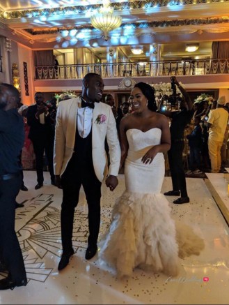 Uloma and Michael's Grand Wedding in London #UlomaMichael18 LoveWeddingsNG