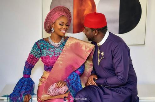 Zainab Balogun and Dikko Nwachukwu Nigerian Traditional Wedding LoveWeddingsNG Akintayotimi