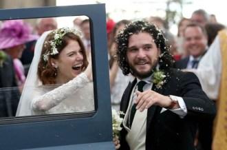 Game of Thrones Kit Harington and Rose Leslie's Scottish wedding LoveWeddingsNG