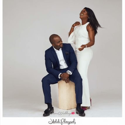 Nigerian Studio Pre Wedding Shoot #SnR18 LoveWeddingsNG 3