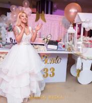 Tonto Dikeh 33rd Birthday Party Bridal Look LoveWeddingsNG 1
