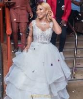 Tonto Dikeh 33rd Birthday Party Bridal Look LoveWeddingsNG 3