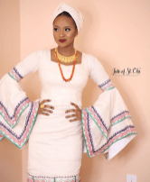Hauwa Indimi Yar'Adua Makeup by Jide of St Ola LoveWeddingsNG