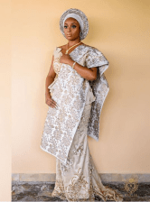 Nigerian Beauty Influencer Ronke Raji and Banji's Traditional Wedding #RnBLove2018 LoveWeddingsNG 2