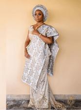 Nigerian Beauty Influencer Ronke Raji and Banji's Traditional Wedding #RnBLove2018 LoveWeddingsNG 2