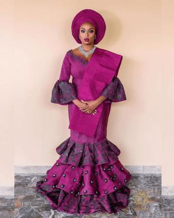 Nigerian Beauty Influencer Ronke Raji and Banji's Traditional Wedding #RnBLove2018 LoveWeddingsNG 6