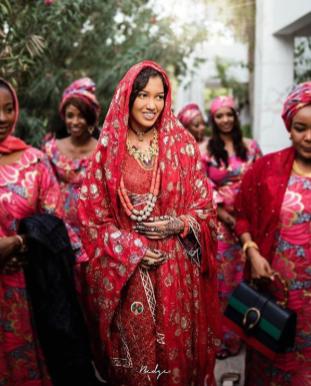 #Ramba18 Kanuri Bridal Look LoveWeddingsNG