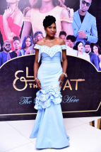 Ufuoma McDermott at the premiere of Lara and The Beat LoveWeddingsNG 2