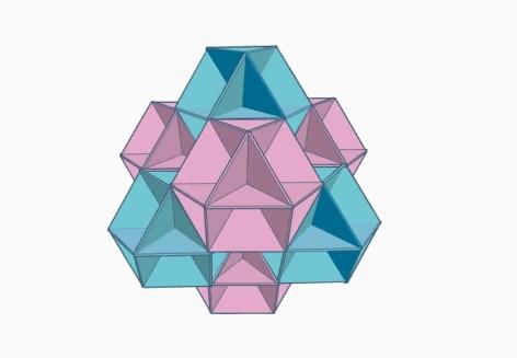 Octocuboctahedron ( tetrahedral view)