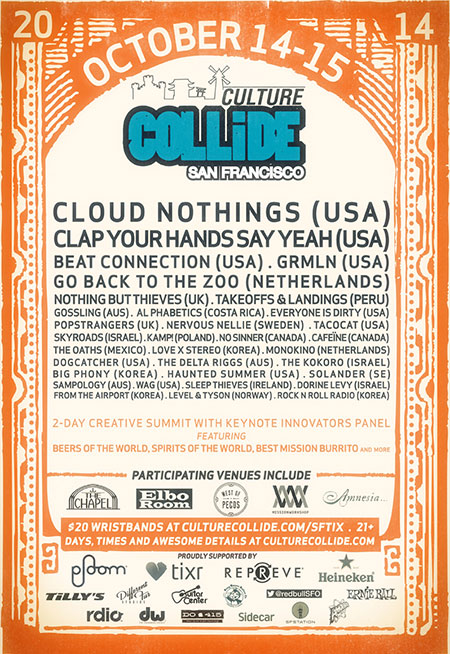 Culture Collide 2014 - San Francisco