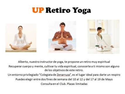 UP Retiro Yoga