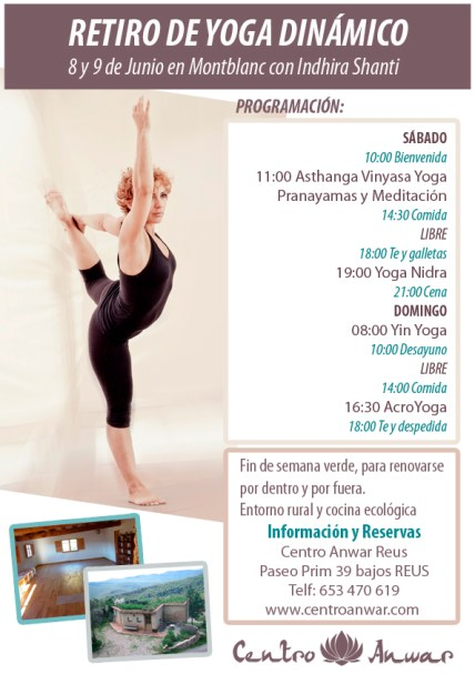 Yoga Dinámico en montblanc