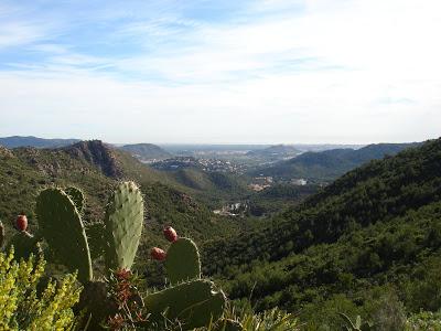 Vista desde el Pico del Águila, en Gilet