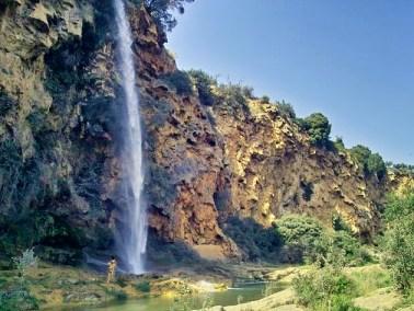 Cascada en la Sierra Calderona