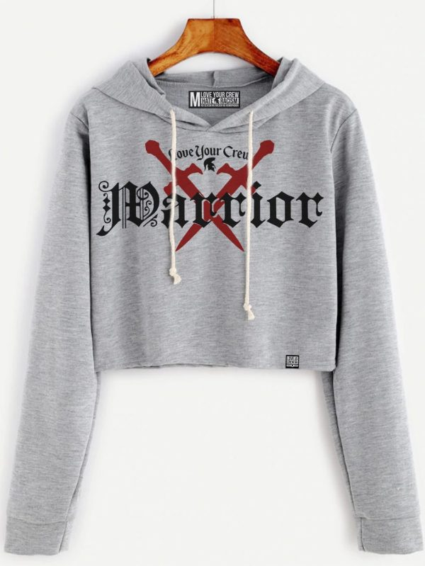 Short Hoddie Warrior- Sudadera Corta