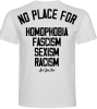 camiseta loveyourcrew blanca no place
