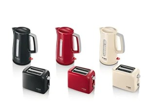 bosch toaster and kettles
