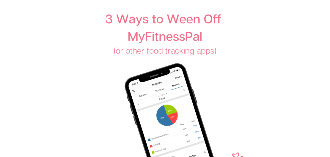 How to delete MyFitnessPal (or other food tracking apps) blog featured photo