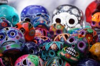 Even skulls are colourful