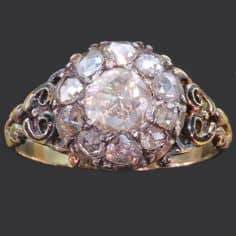 antique georgian wedding ring