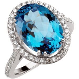 blue amethyst ring