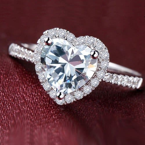 Heart Cut Diamond Engagement Rings Pros And Cons