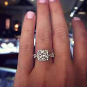 best cushion cut diamond ring