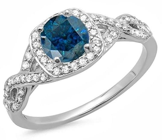 1-00-carat-ctw-14k-gold-round-blue-white-diamond-ladies-swirl-split-shank-halo-engagement-ring-1-ct