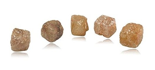 7-50-7-80-cts-cube-shaped-pink-red-orange-hues-a-collectors-dream-5-pcs-loose-rough-diamonds