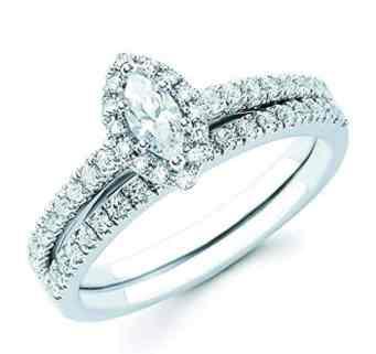 14k-white-gold-marquise-cut-diamond-halo-engagement-wedding-ring-set