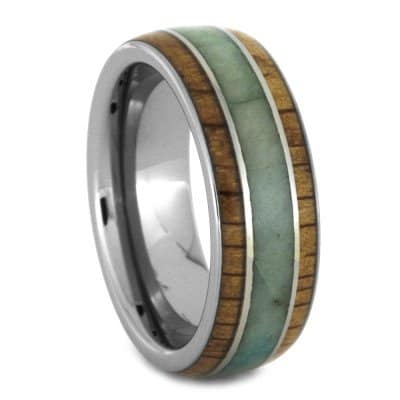 oak-wood-ring-with-chrysocolla-inlay-in-tungsten