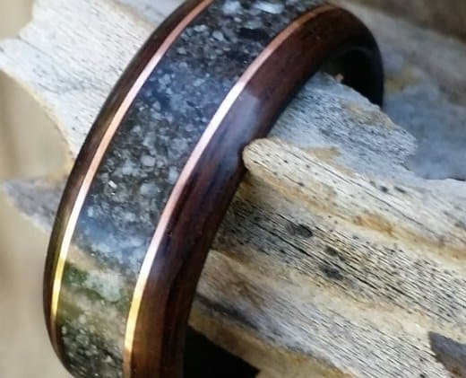 ebony-bent-wood-ring-with-granite-and-copper-inlay