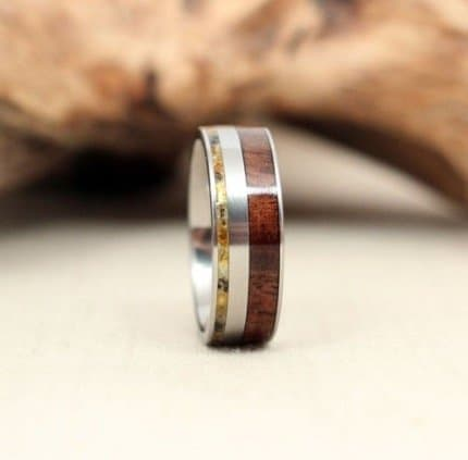 hybrid-royal-walnut-wood-ring-and-baltic-amber-deconstructed-titanium-ring