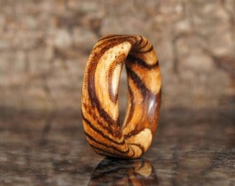 zebrawood-ring
