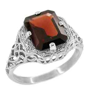 art-deco-flowers-and-leaves-almandine-garnet-filigree-ring-in-sterling-silver