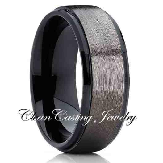 tungsten-ring-mens-brushed-gunmetal-tungsten-ring-tungsten-carbide-ring-anniversary-ring-comfort-fit-ring
