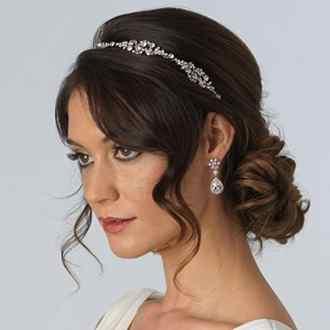 Rhinestone Bridal Headband, Vintage-Style Headpiece