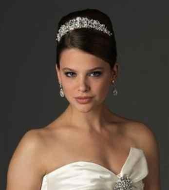 Swarovski Crystal and Rhinestone Bridal Tiara Wedding Crown