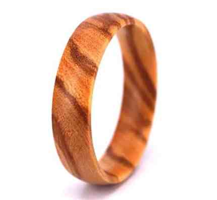 Wood Wedding Rings.His And Her Wooden Wedding Bands 5 Stunners