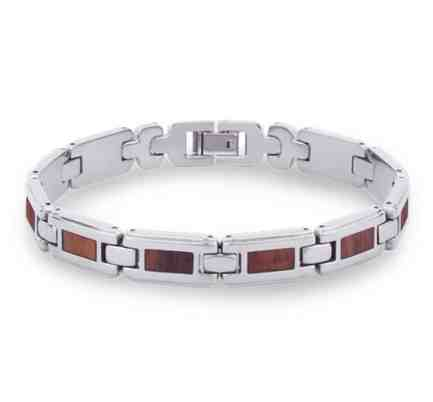 The Link Koa Wood Inlay Bracelet