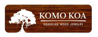 komo koa wood jewelry hawaii