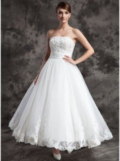 Ankle-Length Bridal Gowns