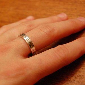 celibacy ring engraving