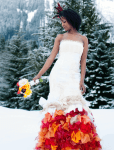 flame zolotova dress