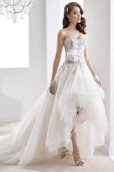hi lo wedding dress